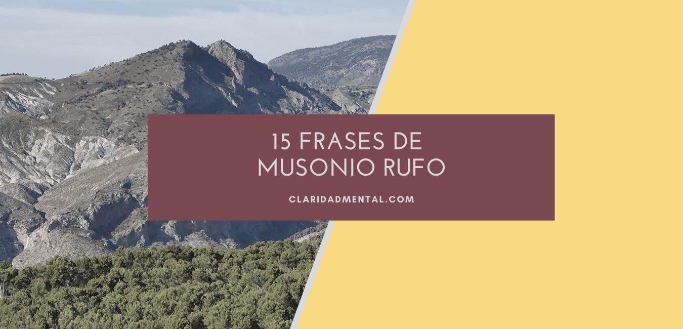 Frases de azucarillo sobre estoicismo de Musonio Rufo