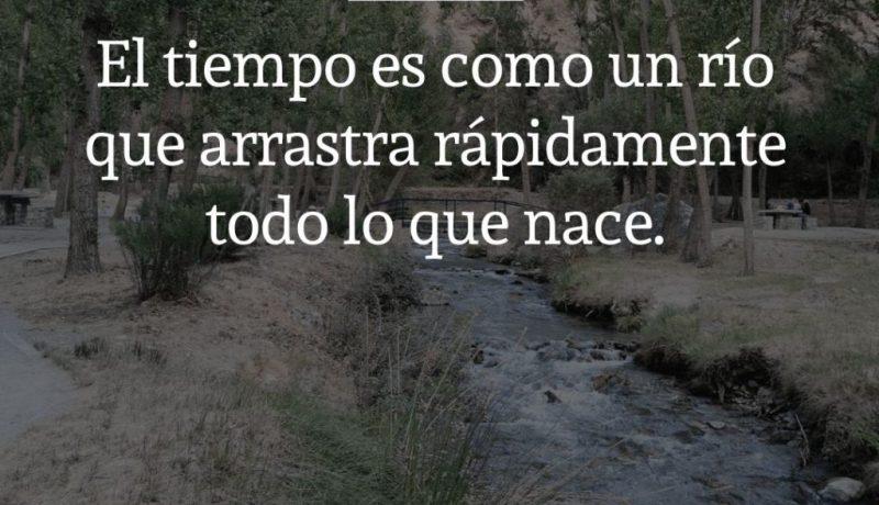 Marco Aurelio El tiempo es como un río que arrastra rápidamente todo lo que nace. Desarrollo personal y emprendimiento