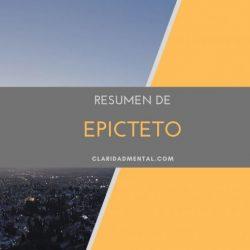 epicteto estoicismo lecciones estoicas claridad mental