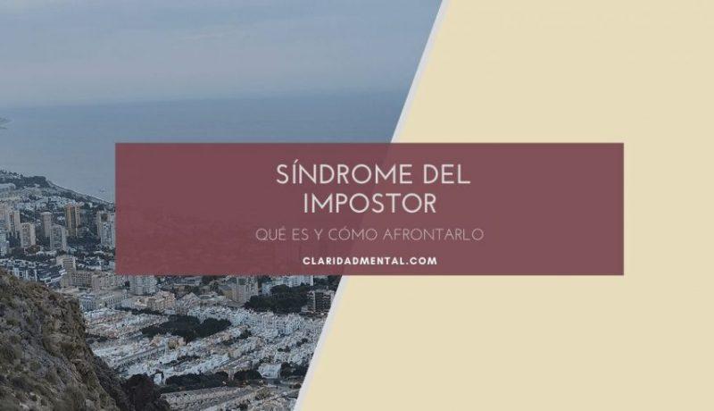 sintomas del sindrome del impostor y como combatirlo