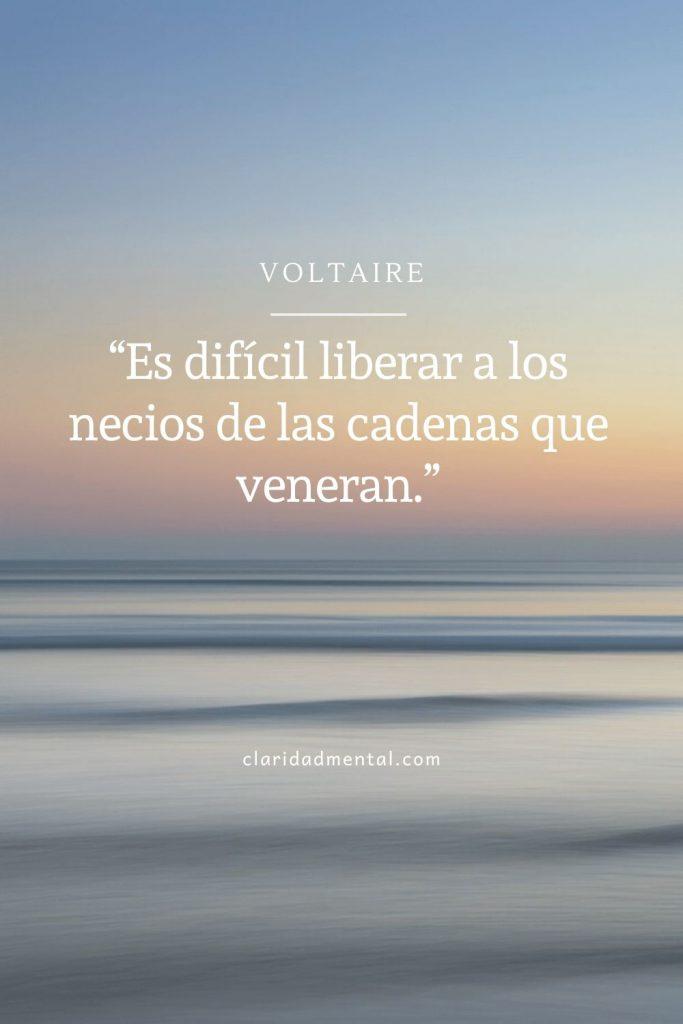 frases de libertad Voltaire