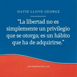 Frases de libertad David Lloyd George