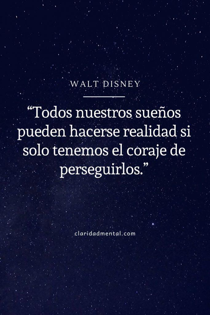 Walt disney frases de motivación y positividad