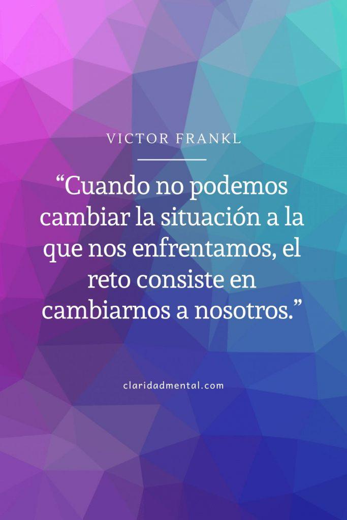 Victor Frankl frases de motivación