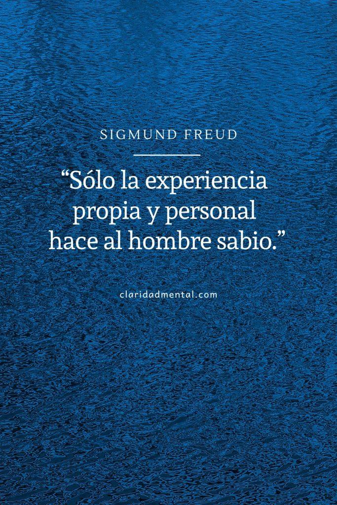 Sigmund Freud frases de superación personal