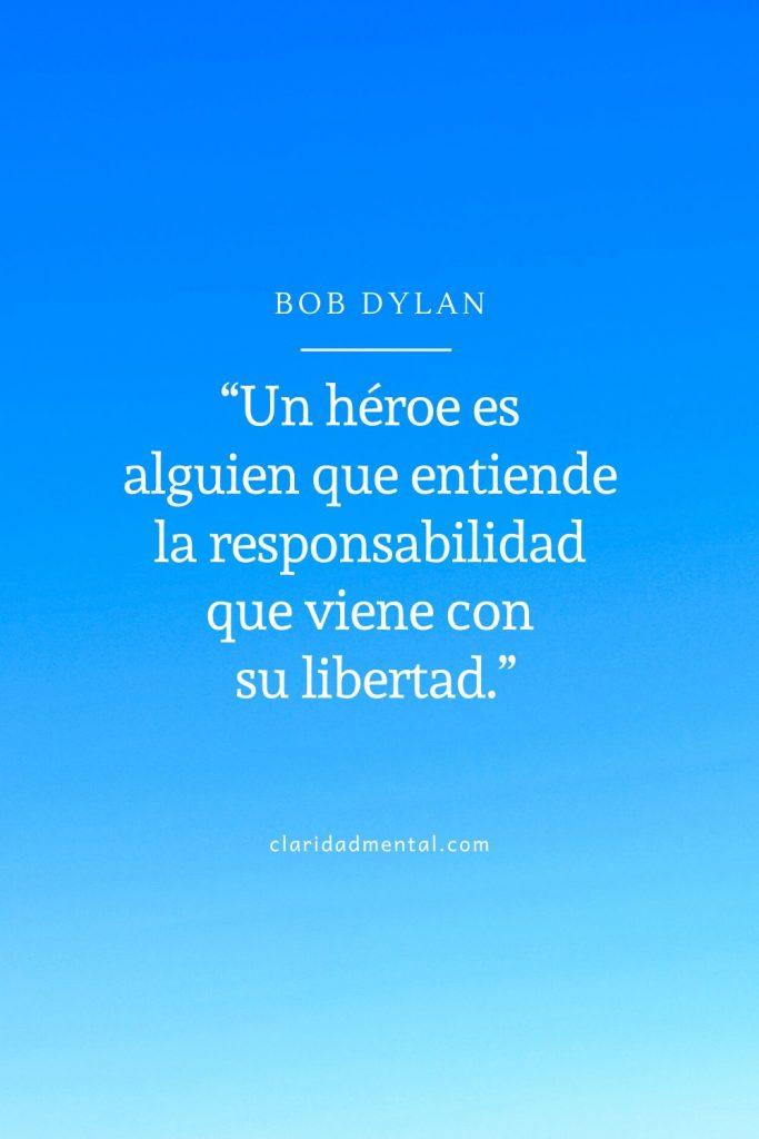 frases de libertad Bob Dylan