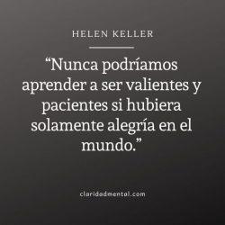 Helen Keller frases de motivación