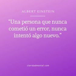 Frases de motivación Albert Einstein