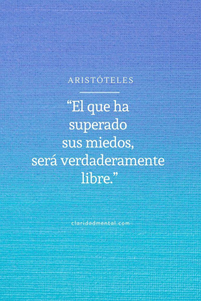 Frases sobre la libertad. Aristóteles