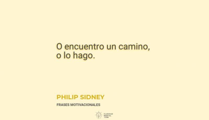 Philip-Sidney-O-encuentro-un-camino-o-lo-hago
