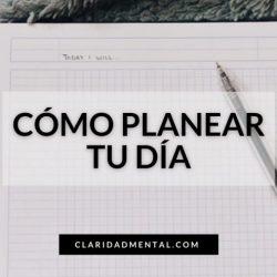 Aprende a planificarte para ser más productivo